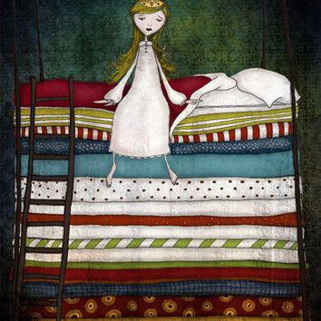 The princess and the pea by majalin on Etsy