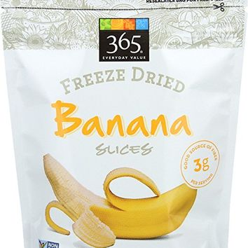 365 Everyday Value, Freeze Dried Banana Slices, 1.6 oz