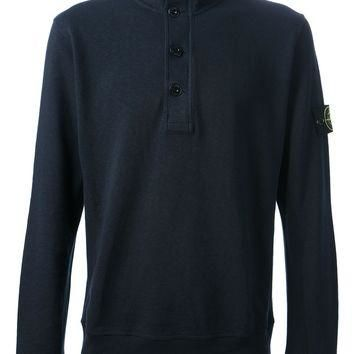 Stone Island Long Sleeve Polo Shirt
