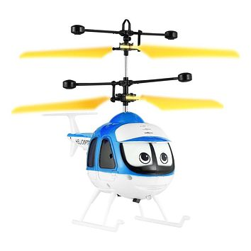 Boy Upgrade Version Mini RC Helicopter Induction Flying Toy Remote Control Drone Aircraft For Kids Plane Toys Floating Toys Gift