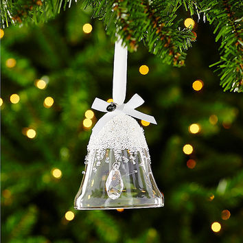 swarovski christmas bell ornament annual edition 2015 dillards