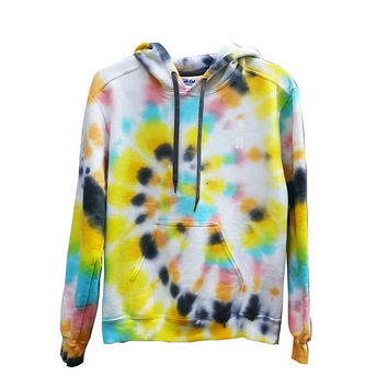 SALE Rainbow Sweatshirt Tie Dye Hoodie Womens Mens Girls Boys Snowboard Skateboard Tumblr Gift For Her Gift For Him Rainbow Warm Cozy Soft