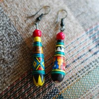 Funky Tribal Earrings