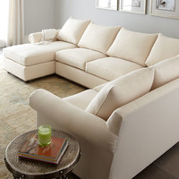 Old Hickory Tannery Ellsworth Neutral Three-Piece Sectional
