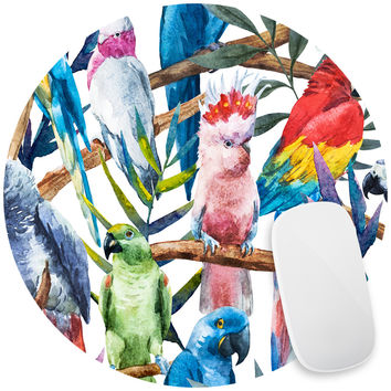 Paradise of Birds Mouse Pad Decal
