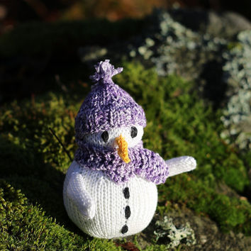 Snowman amigurumi knitting pattern PDF, mobile hangers, diy gift and decoration, gift for kids and adults, baby shower