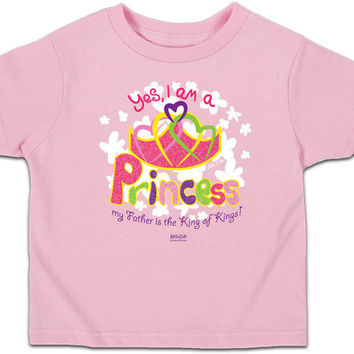 Princess T-shirt (light pink)