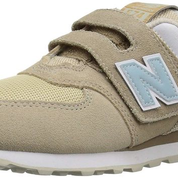 New Balance Kids' 574v1 Vintage Surf Hook and Loop Sneaker