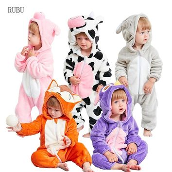 Infant Romper Baby Boys Girls Jumpsuit New born Bebe Clothing Toddler Pajamas Winter Baby Clothes Panda Romper Baby Costumes