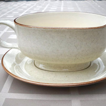 Gravy Boat & Under Plate Mikasa China Stylemanor FD-800 -