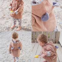 Bertie Bear Jacket - kids jacket, baby jacket, childs jacket, boys coat, girls coat, unisex coat, unisex jacket, baby coat
