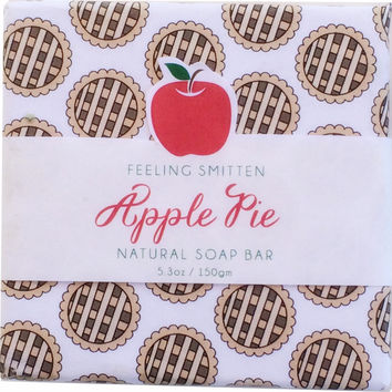 Feeling Smitten Apple Pie Soap 5.3 oz Bar