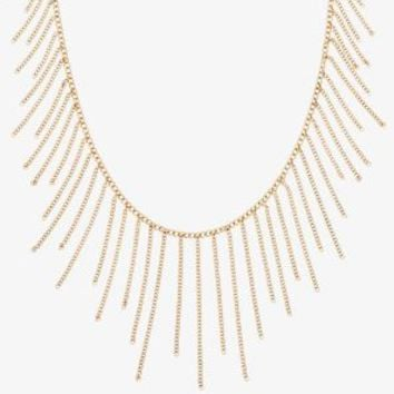 Gold-Tone Chain Statement Necklace | Michael Kors