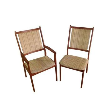 Pre-owned Spottrup Danish Mid-Century Modern Dining Chairs