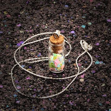 Dreams In A Bottle Necklace