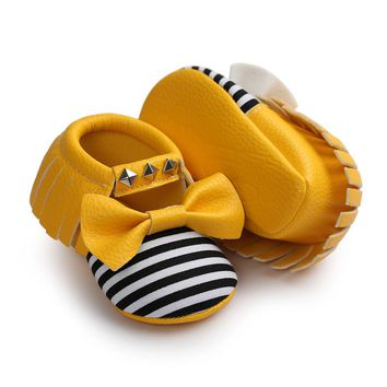 Baby Girl Tassels Bandage Shoes