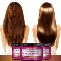 Argan Oil Hair Mask 8 oz.Treatment Therapy Deep Conditioner for Damaged Hair a Must Have