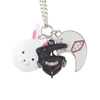 Tokyo Ghoul Mask Charms Necklace