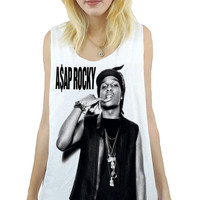 ASAP Rocky Hiphop Rapper Unisex Tank Top Sz.S,M,L,XL