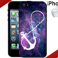 iPhone Case - Galaxy Anchor iPhone Case - Infinity - iPhone 4 Case or iPhone 5 Case - Hard Plastic iPhone Case