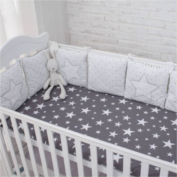 New Star Bed Bumper Comfortable Protect In The Crib