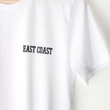 East Coast Tee - White