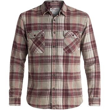 Quiksilver Happy Long Sleeve Flannel Shirt