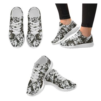 Dice and Spades Skulls Men's Sneakers