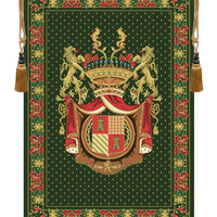Royal Crest II Tapestry Wall Art Hanging