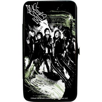 Black Veil Brides Women's Group Pose 3 Girls Wallet