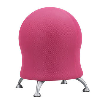 Safco Home Office Meeting gathering Zenergy Ball Chair Pink