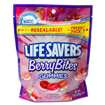 Life Savers Gummies Candy - Berry Bites: 8-Ounce Bag