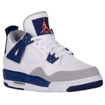 MDIG91W Jordan Retro 4 - Girls' Grade School at Footaction
