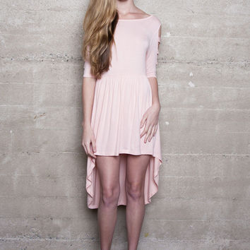 Empire Cut Out Dress Blush BOTB By Hellz Bellz - LAST ONE