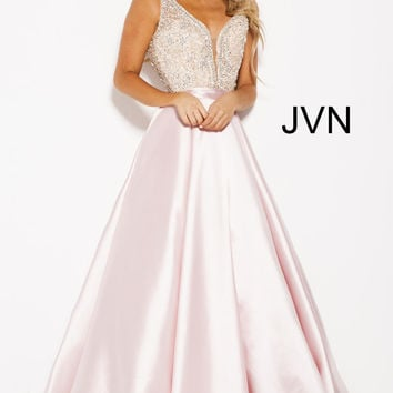 Prom 2018 Preview JVN Prom by Jovani JVN60696 JVN Prom Collection Formals XO KING OF PRUSSIA PA, LANGHORNE PA, SERVING PA NJ, SHERRI HILL JOVANI IN STOCK IN STORE