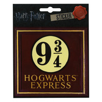 Harry Potter 9 3/4 Sticker