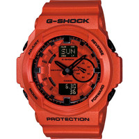 G-Shock Ga150a-4Acr Watch Red One Size For Men 20912230001