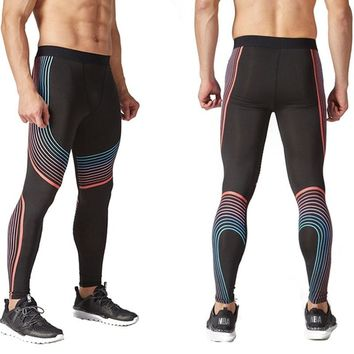 soccer Basketball Compression Pants leggings Sports Running Tights Men Jogging Bodybuilding Leggings Fitness Gym yoga Clothing