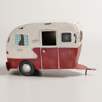 Decorative Metal Camper Decor