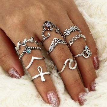 Ring Set Sea Cross Rack [11790884367]