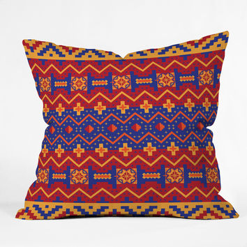 Arcturus Native Throw Pillow