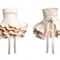 LUKRECJA Apron from COOKie   Made By COOKie   £118.00   Bouf