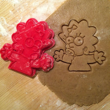 The Simpsons - Maggie Simpson cookie cutter
