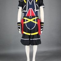 Anime Kingdom Hearts 2 II Sora  Cosplay Costume