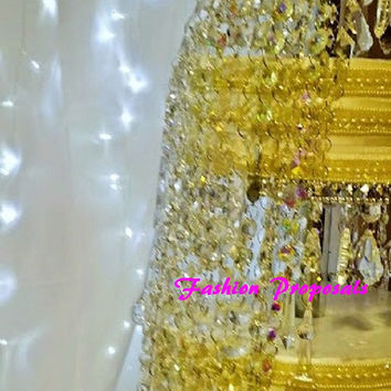 Sex and the City 2 Wedding Crystal Cake Stand Inspire on the Sex and the City 2 Chandelier Cake Stand. Crystal chandelier cake stand.