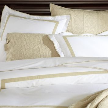 MORGAN 400-THREAD-COUNT DUVET COVER & SHAM