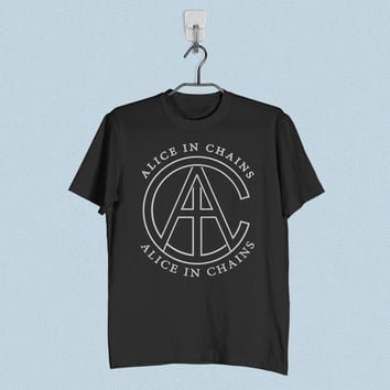 Men T-Shirt - Alice in Chains AIC Logo