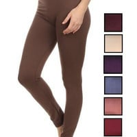 Fleece Lined Leggings Slight Tummy Control