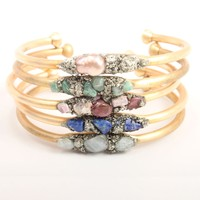 Catbird :: shop by category :: JEWELRY :: Brass Cuffs with Stones