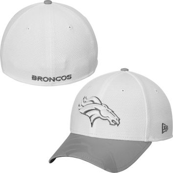 Denver Broncos New Era Series Gunner Two-Tone 39THIRTY Flex Hat – White
